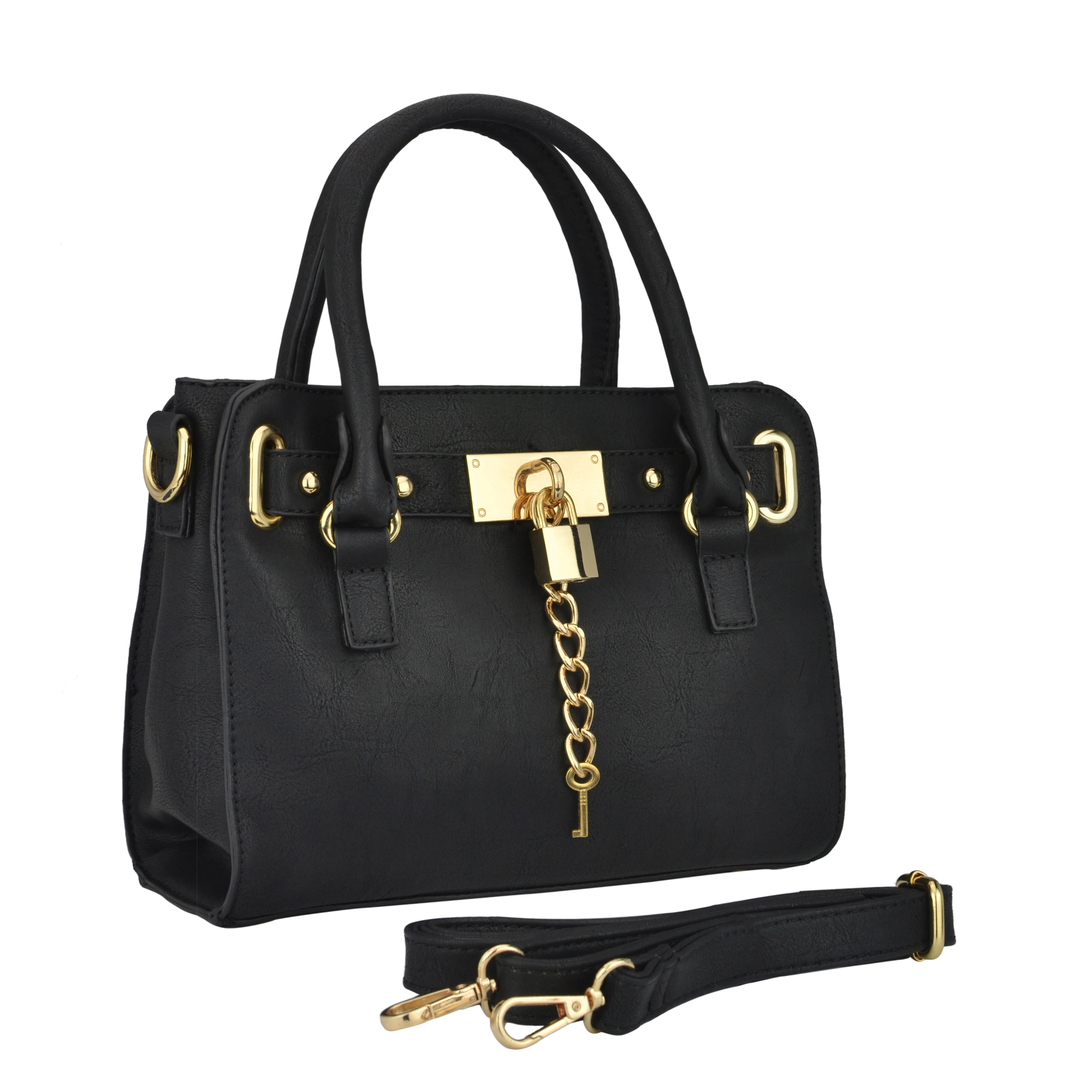 NERYS black top handle tote purse main image
