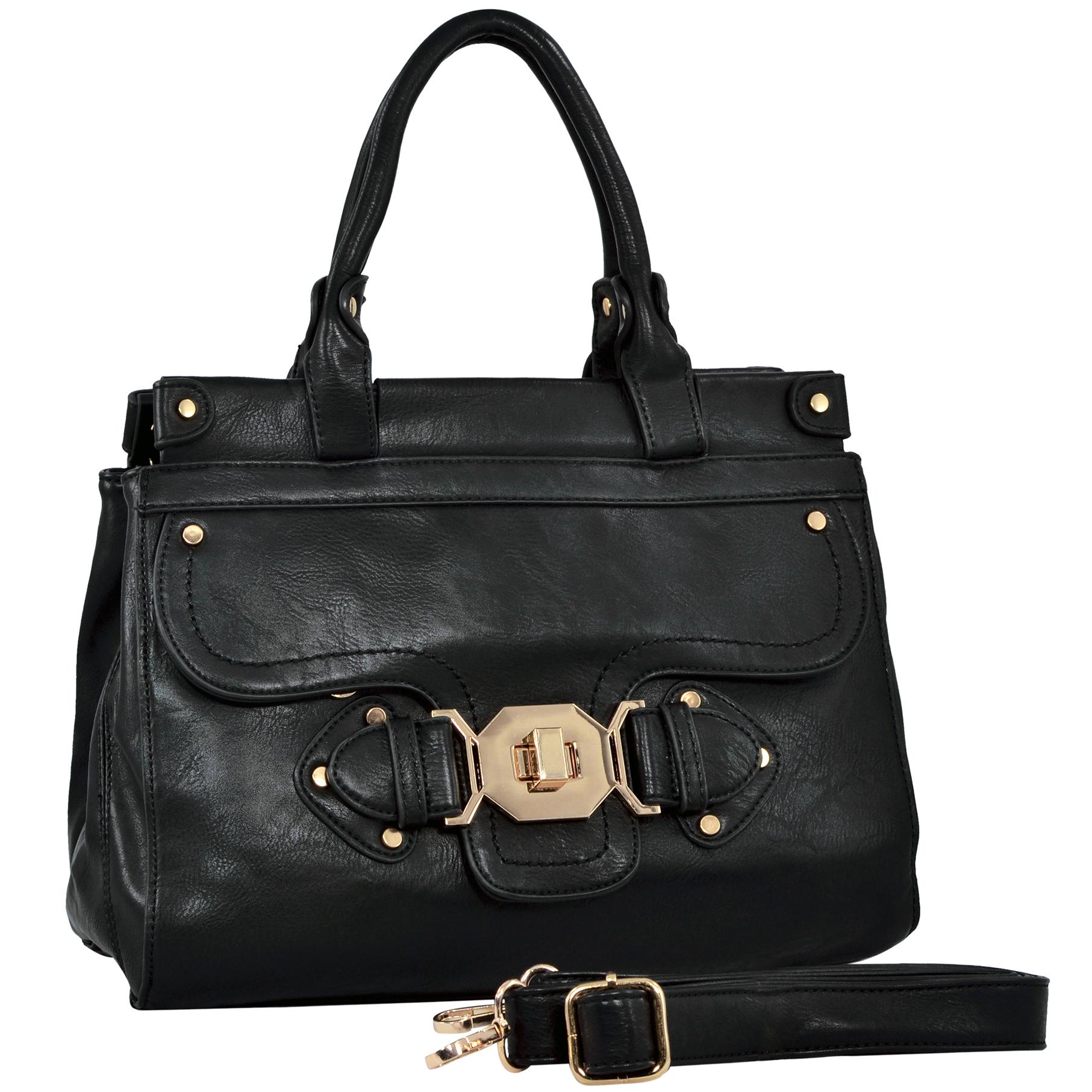wendy brown satchel style shoulder bag main handbag image