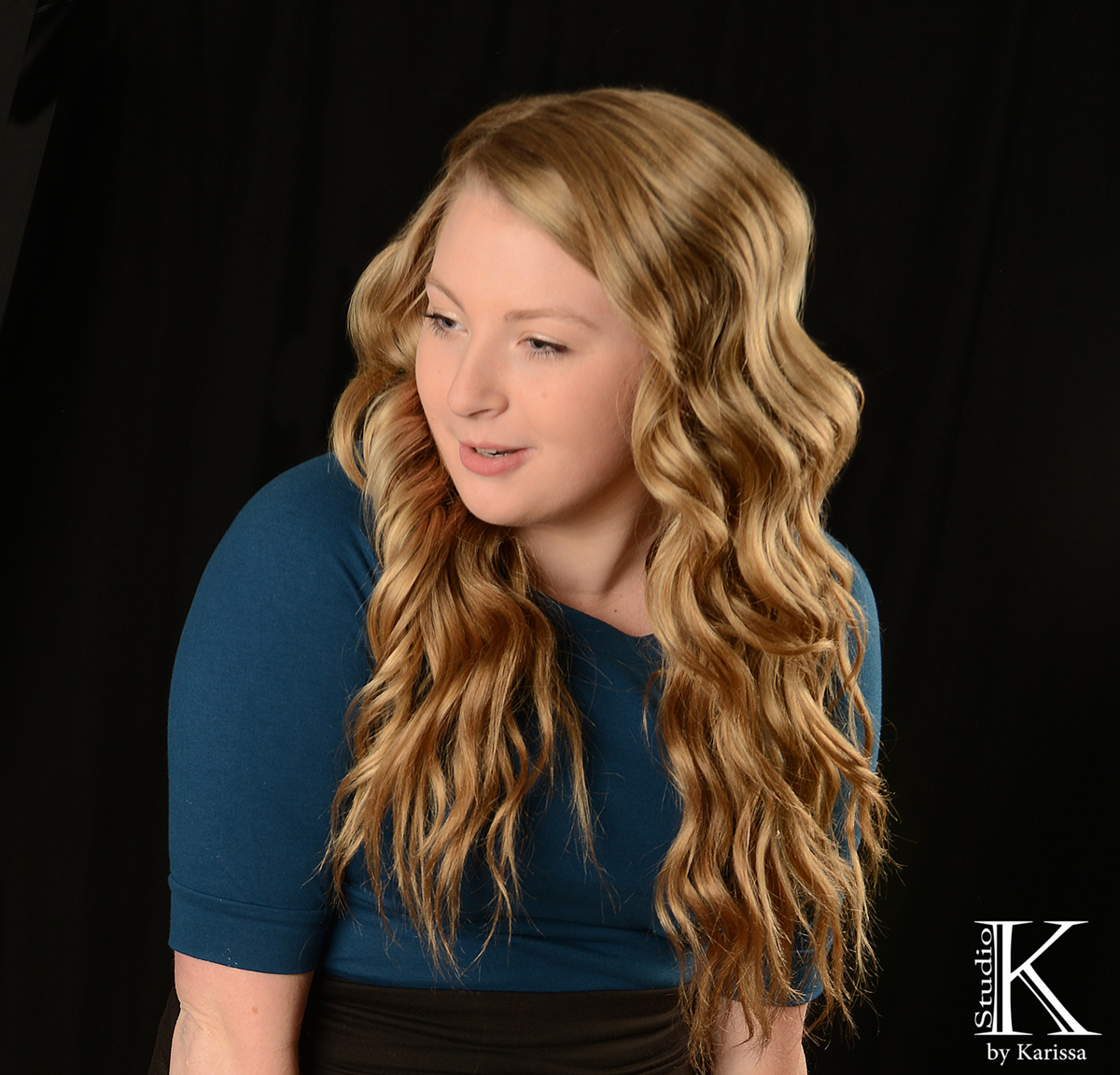Keely was dancing and her hair looks amazing in this picture!