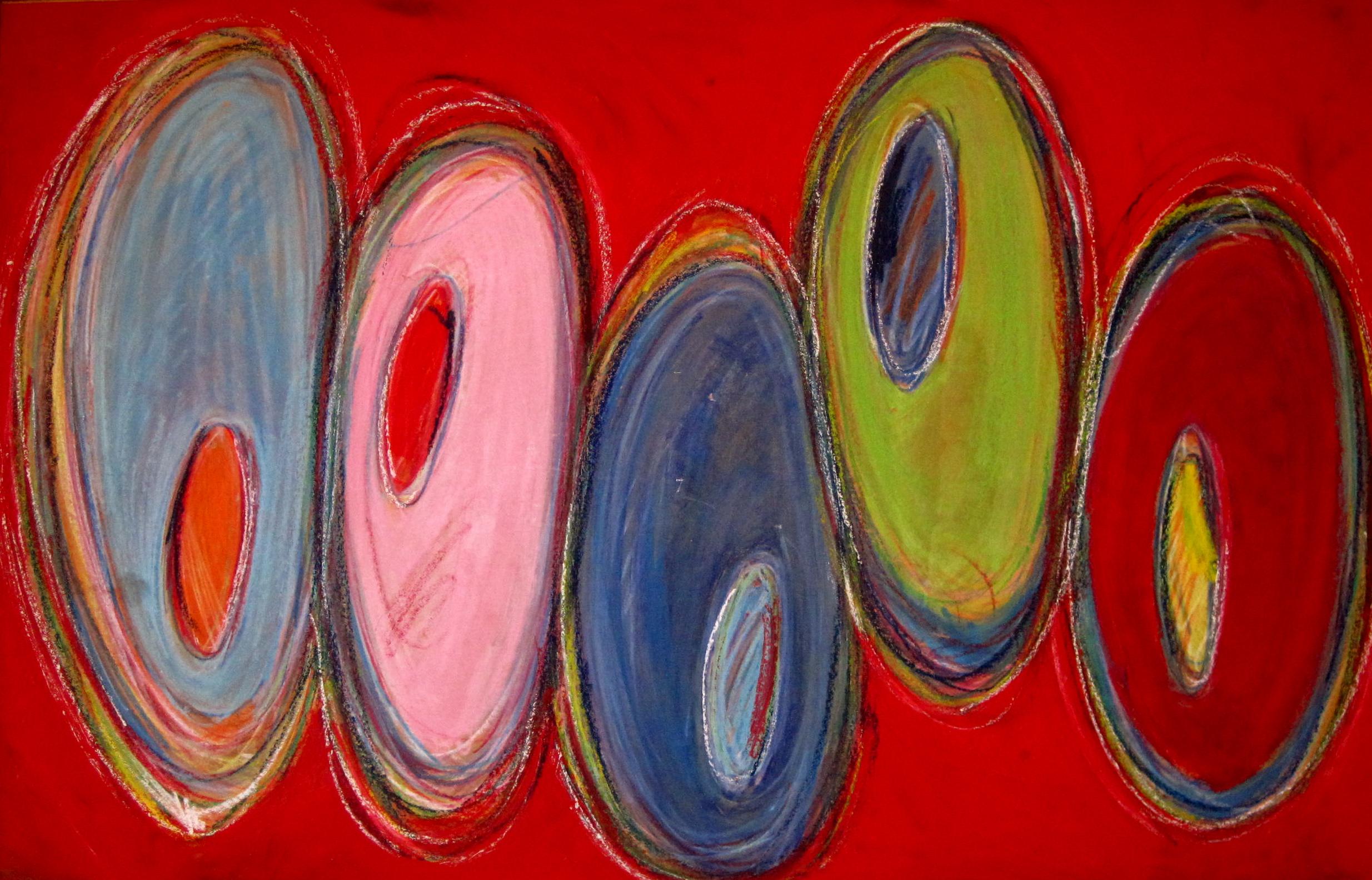 "Milonge   oil on paper   36""x50"""