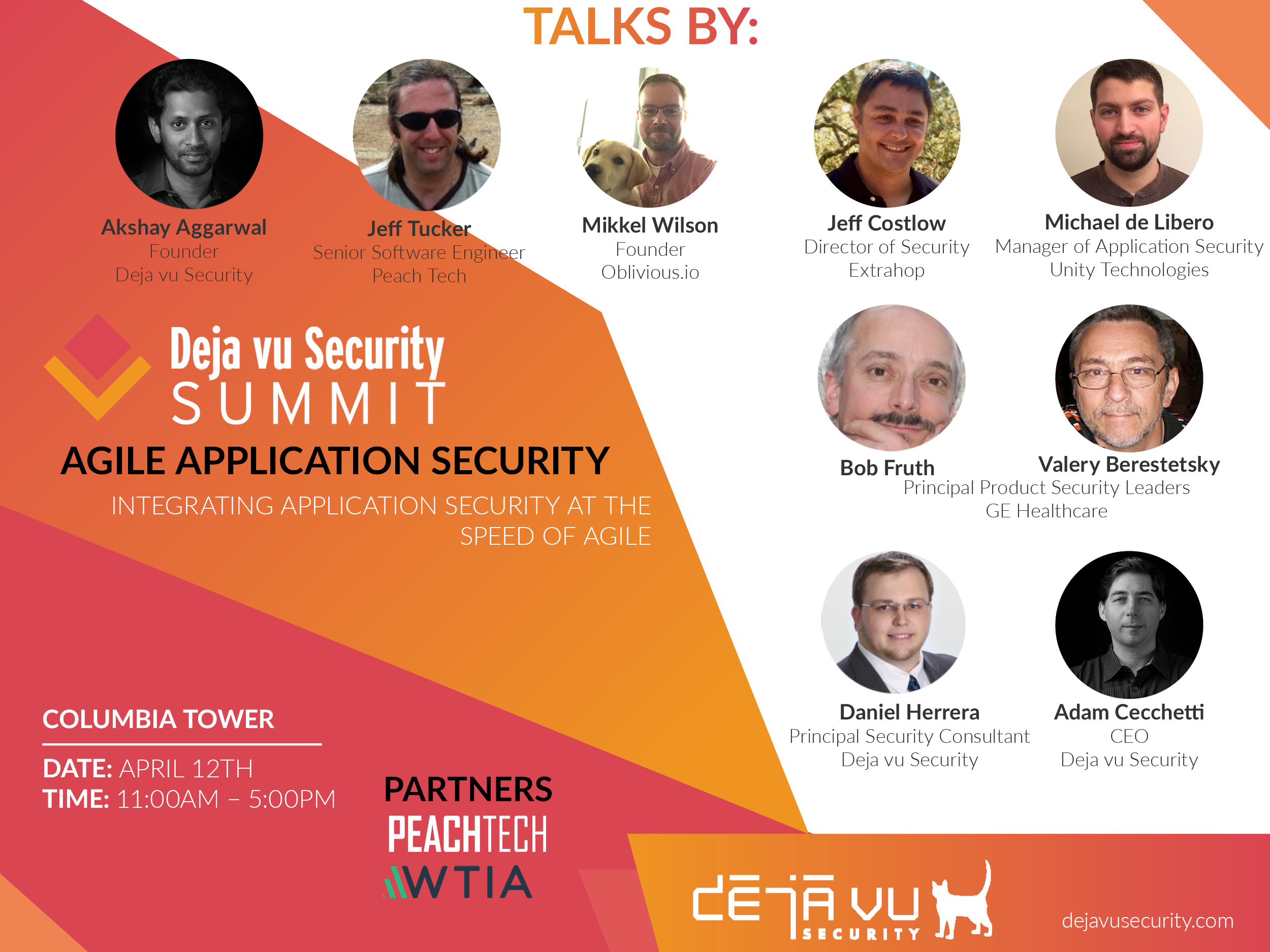 Deja vu Security Agile Security Summit Seattle