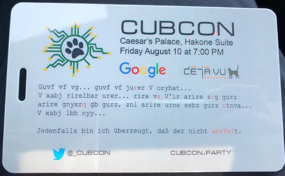 CubCon badge