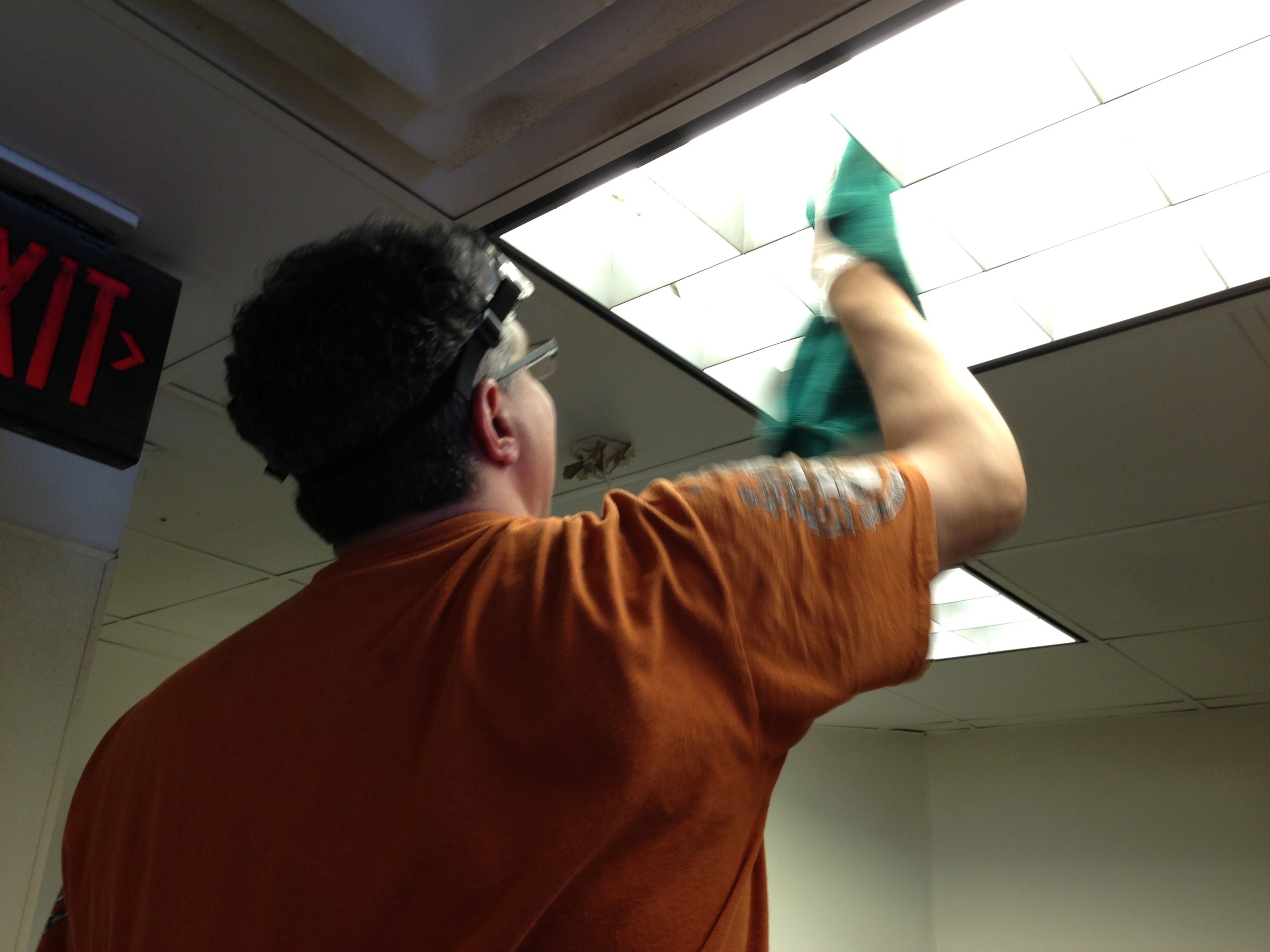 Ceiling Cleaning