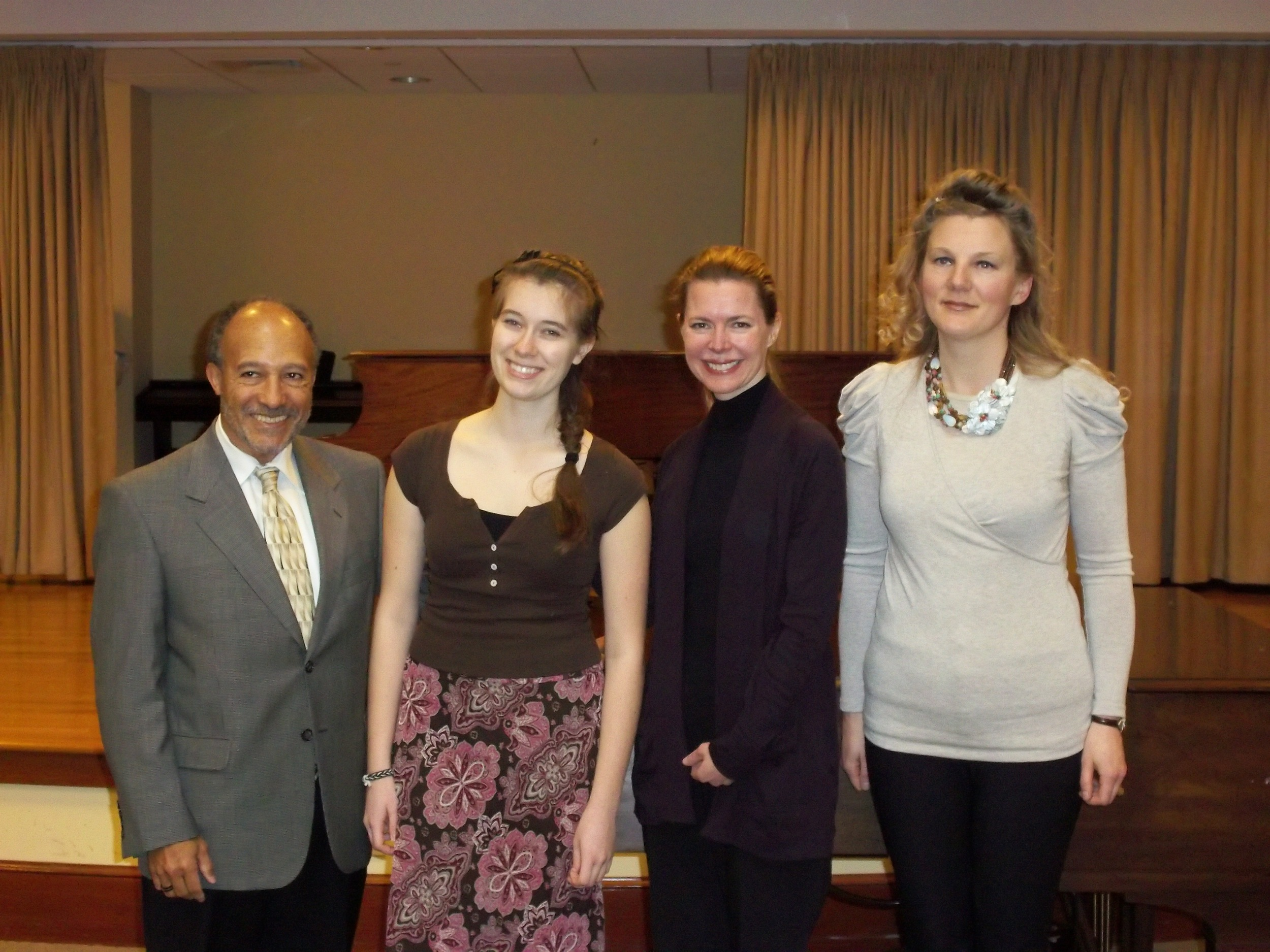2011 Concerto Competition Judges and Winner