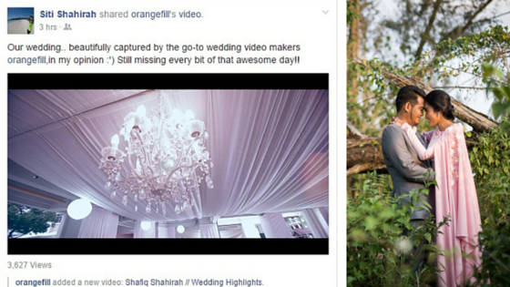 Recommended malay wedding video in Singapore