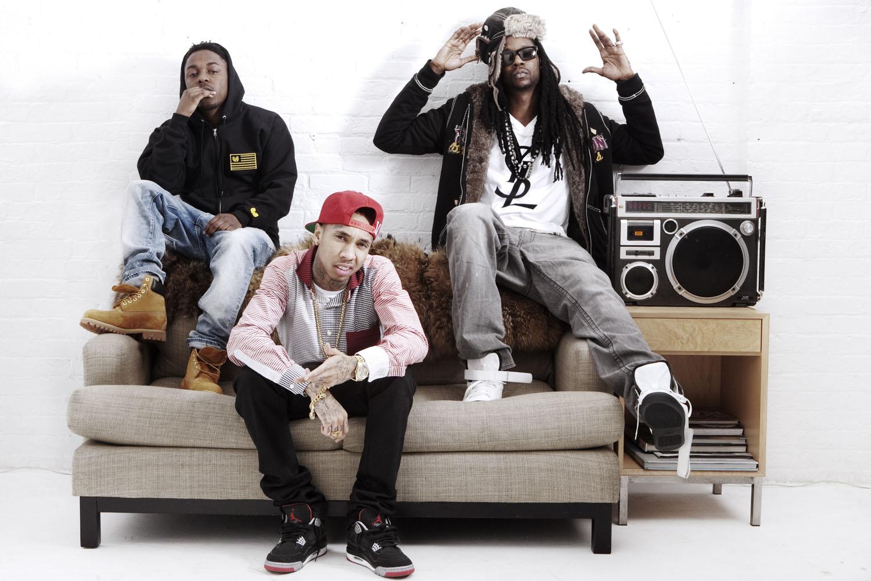 Kendrick Lemar, Tyga & 2Chainz