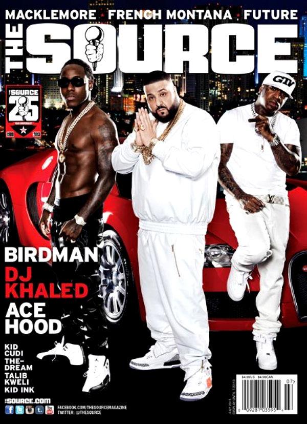 Ace Hood, DJ Khaled & Birdman Source Cover