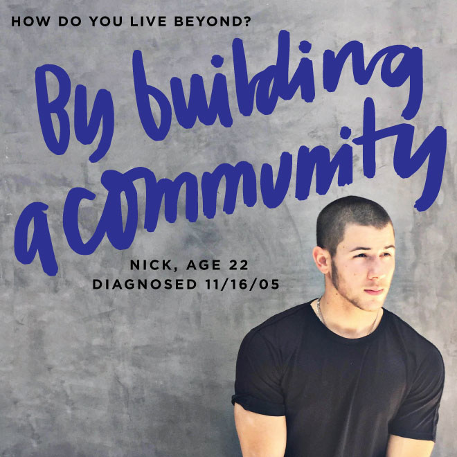 Nick Jonas is one of the co-founders of Beyond Type 1. I got to work with the co-founders as they set out to execute on their vision of empowering a community of those with T1 Diabetes.
