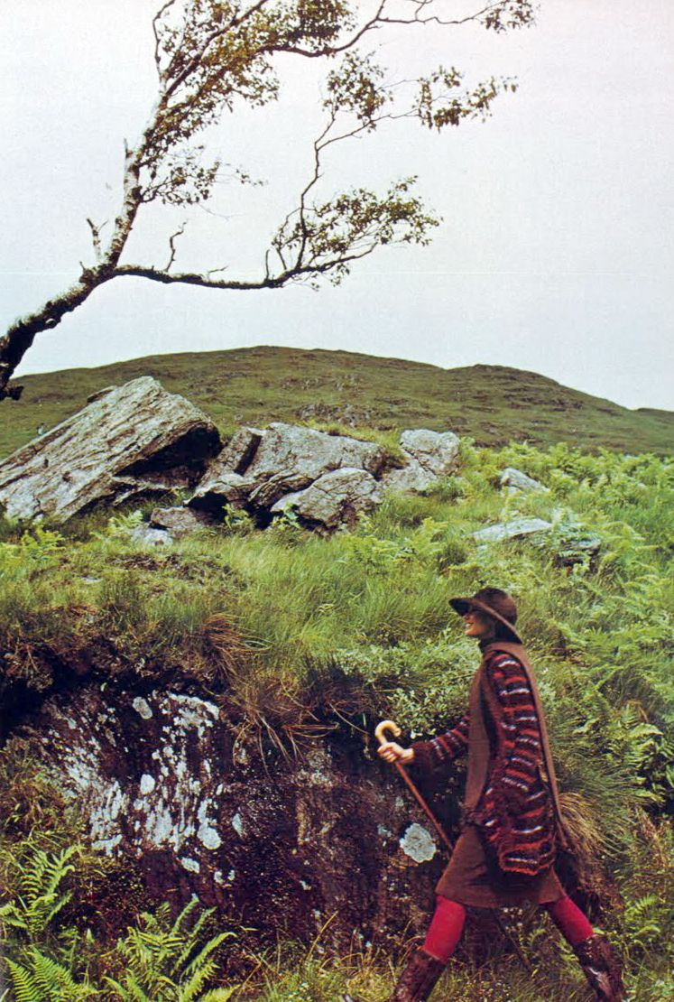 ynn Woodruff by Barry Lategan October 15th 1973 - UK Vogue