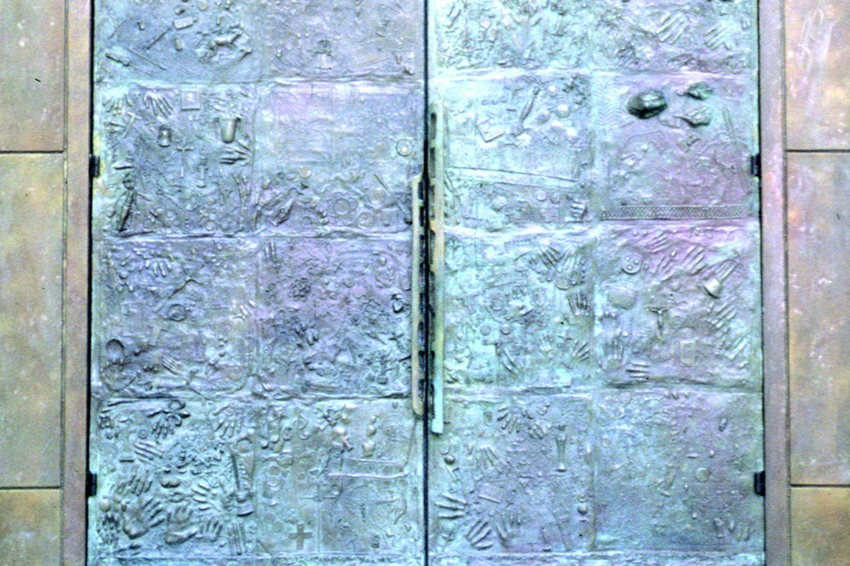 Sanctuary Doors - Close