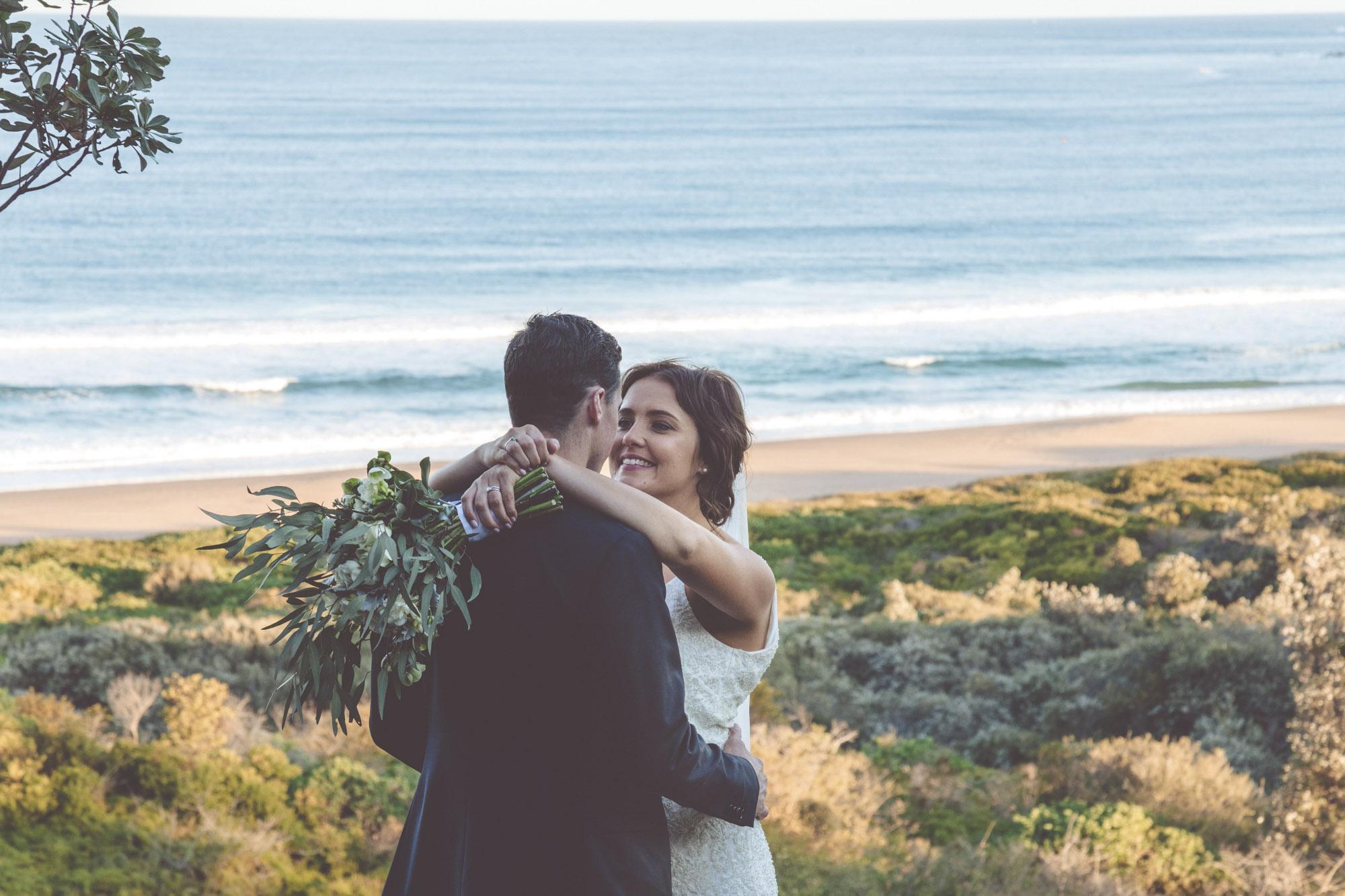Emily + Tim   Ceremony on Whale Beach  Reception @  MobyDicks