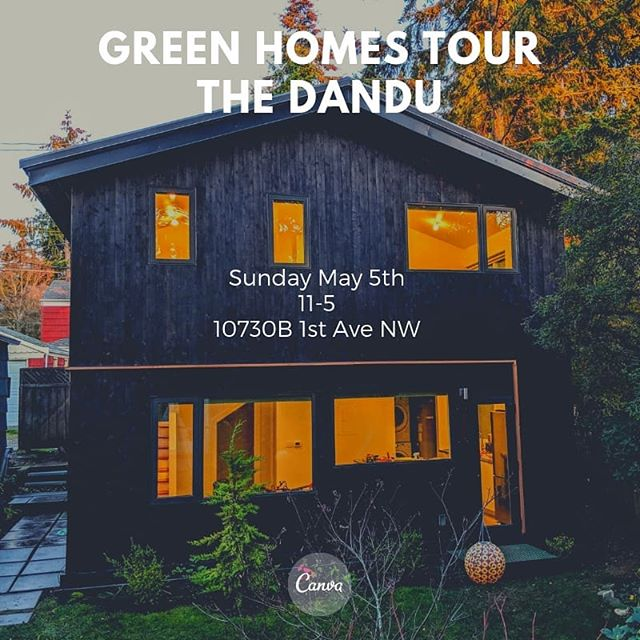 The NW Green Homes Tour is tomorrow! Come visit our projects.  #backyardcottage #backyardcottageseattle #adu #aduseattle #dadu #daduseattle #lanewaycottage #grannyflat #motherinlaw #sips #sipspanels #silkroadsolar #prefab #icf