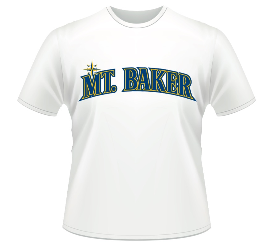 The 2019 limited edition mount baker t-shirt. only available with tickets to the game. awesome sauce!