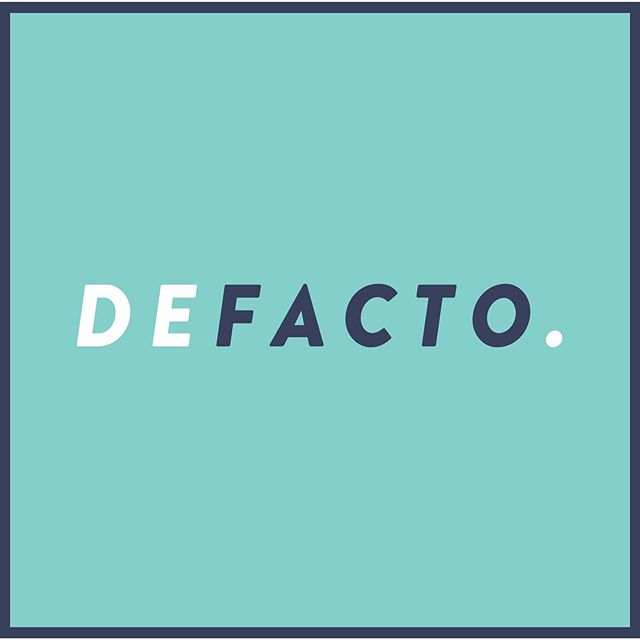 Logo for a design/satire project I'm working on - @realdefacto