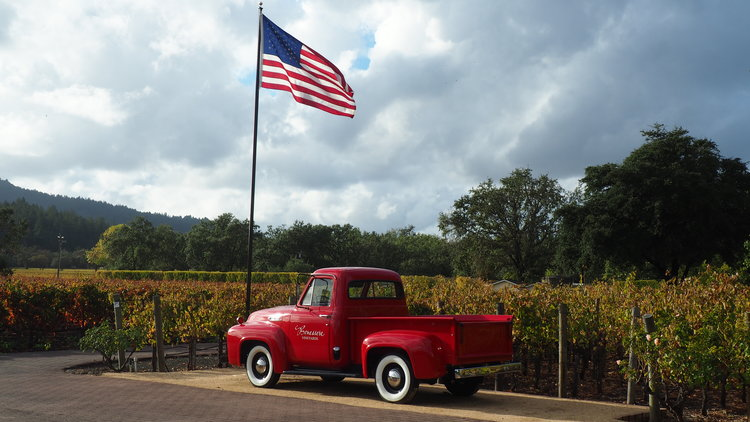 The view outside  Benessere Vineyards , makers of incredible Italian varietal wines. Photo credit: Jeff Toister