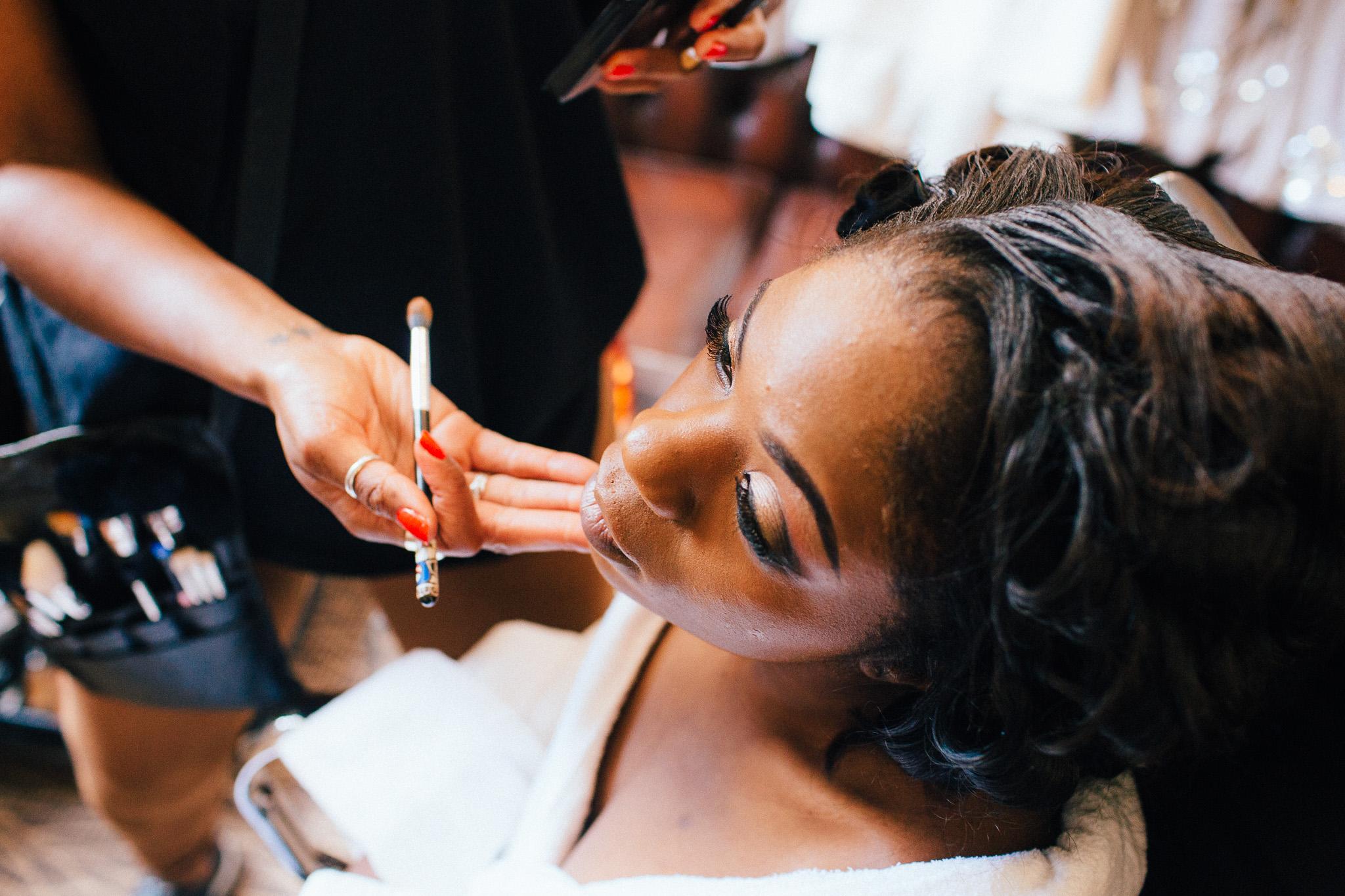 nigerian bride make up