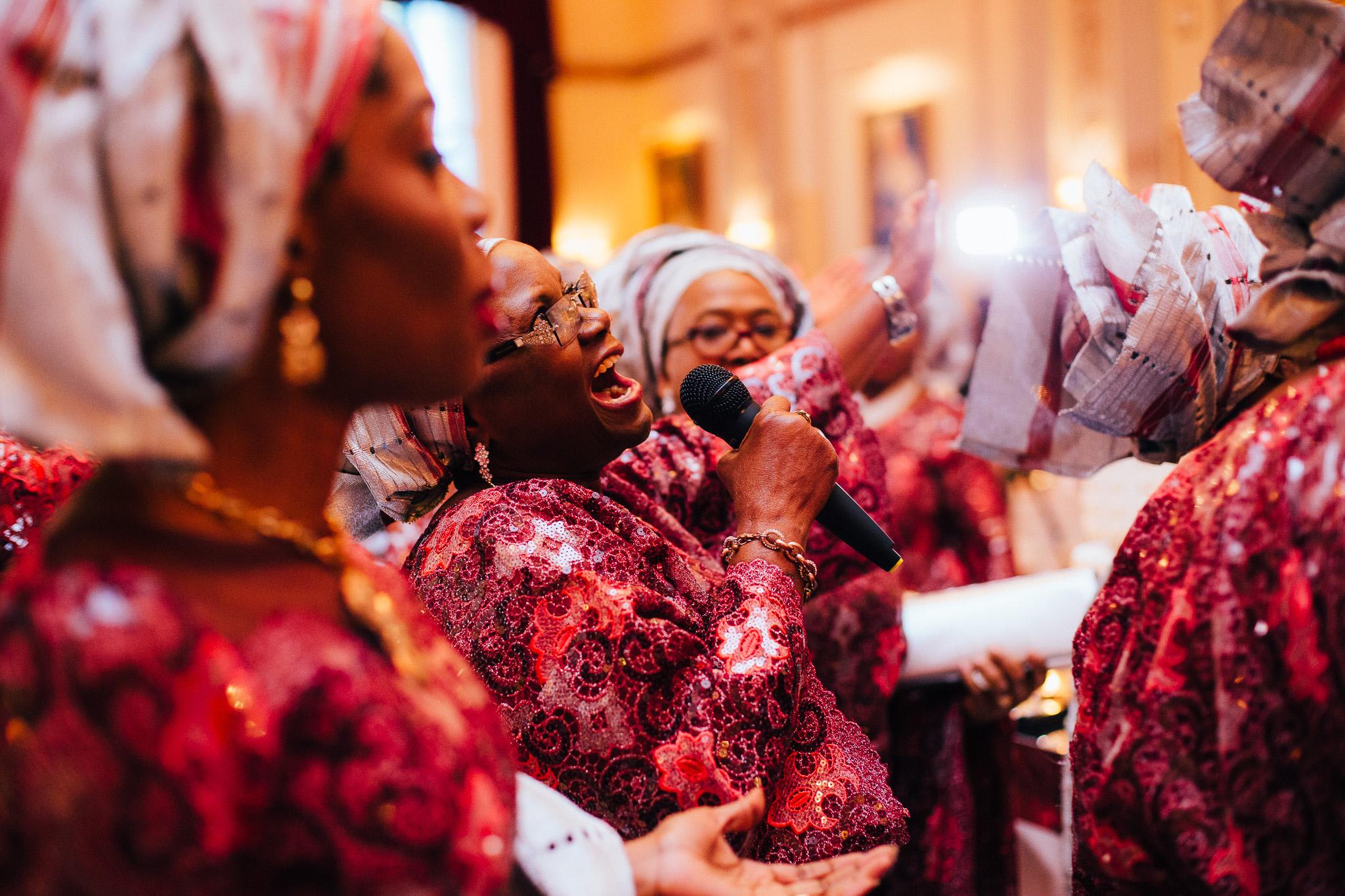 nigerian wedding plaisterers hall