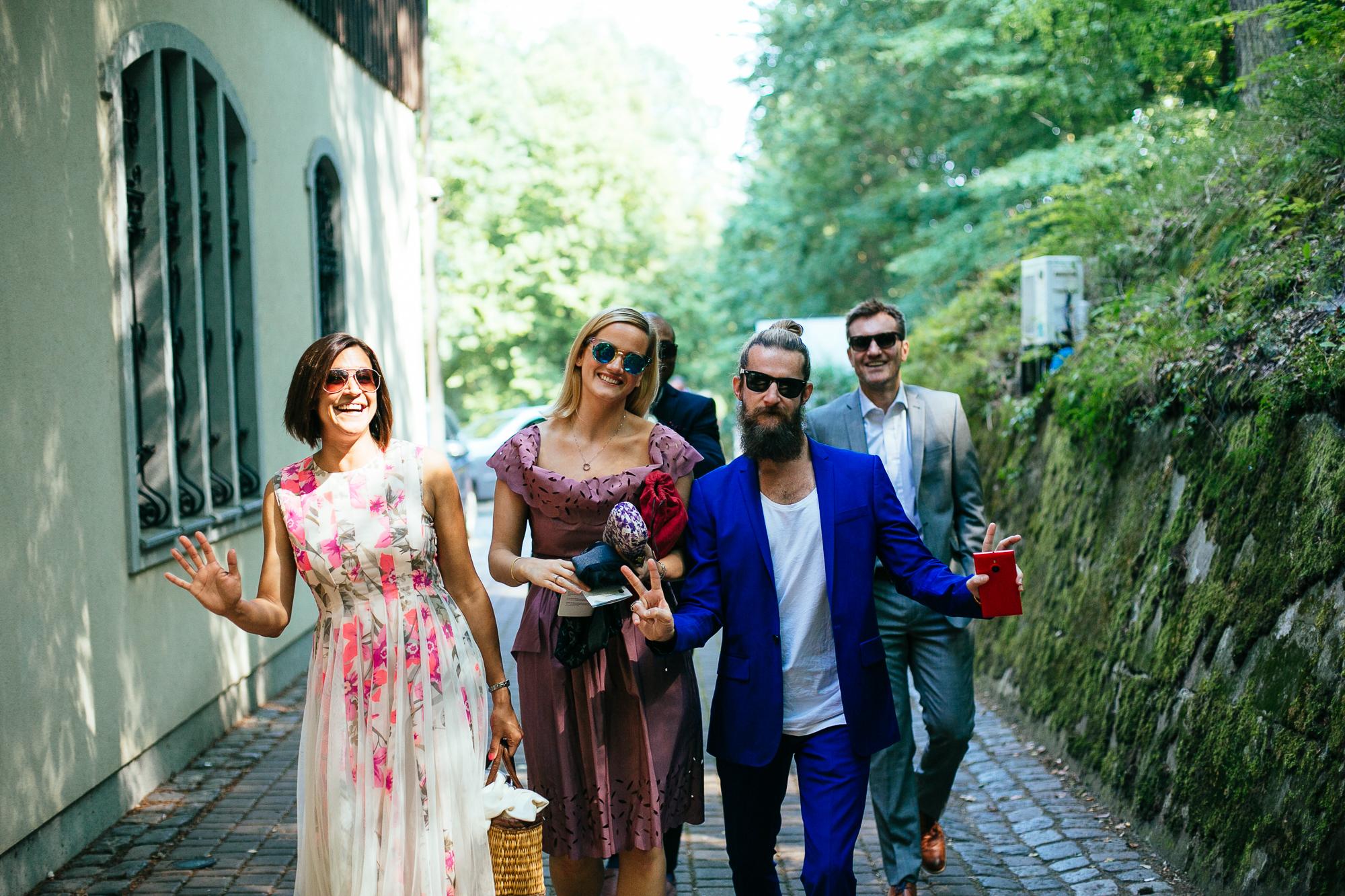 wedding guests destination wedding photography