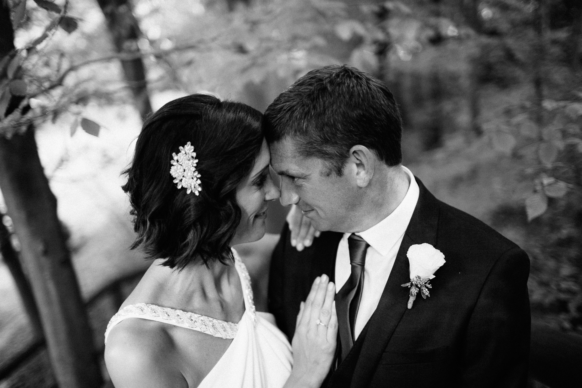 black and white forest bride groom destination wedding photography intimate