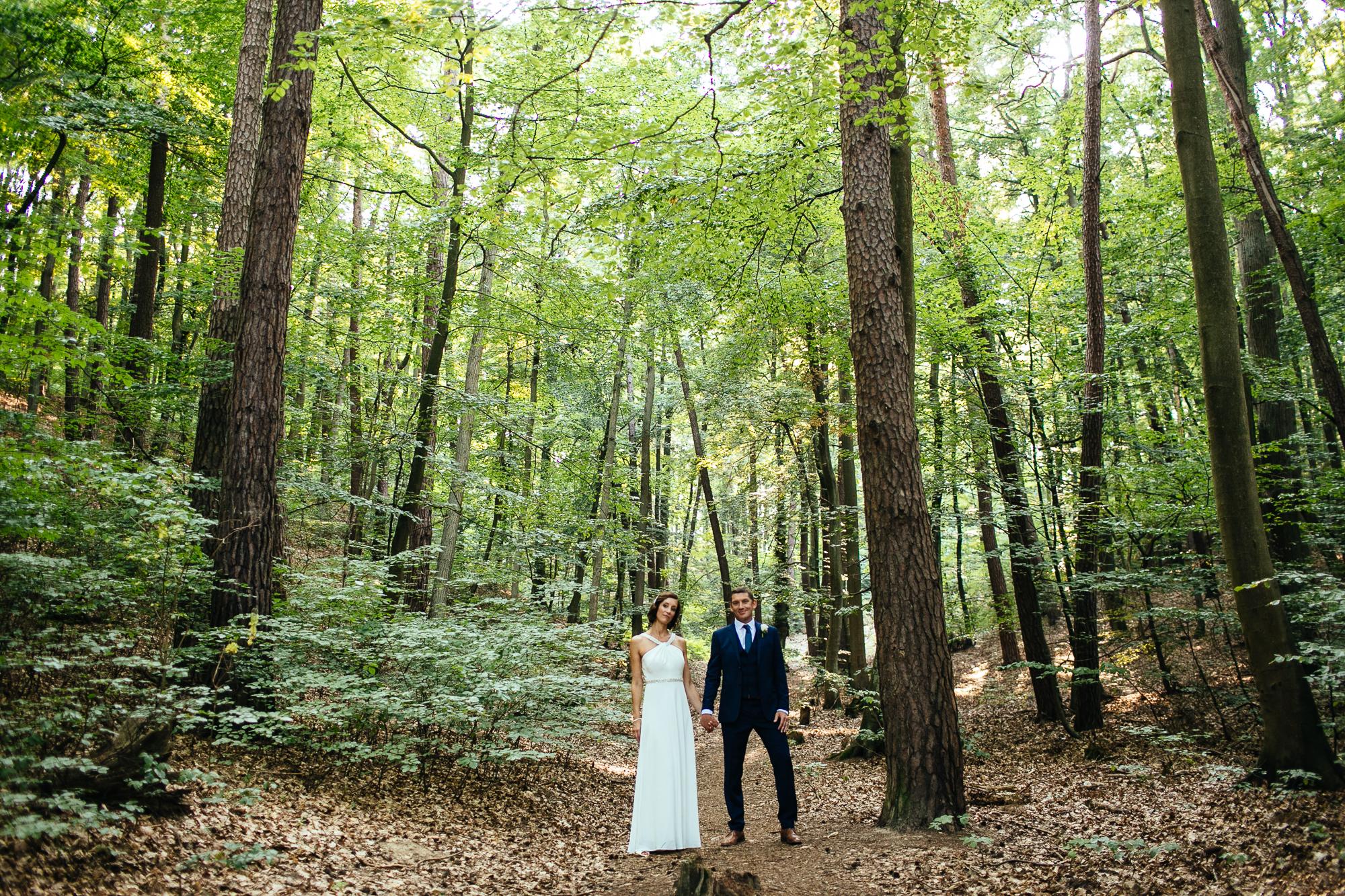 forest bride groom destination wedding photography