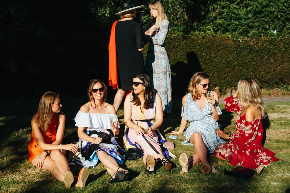 wedding guests summer