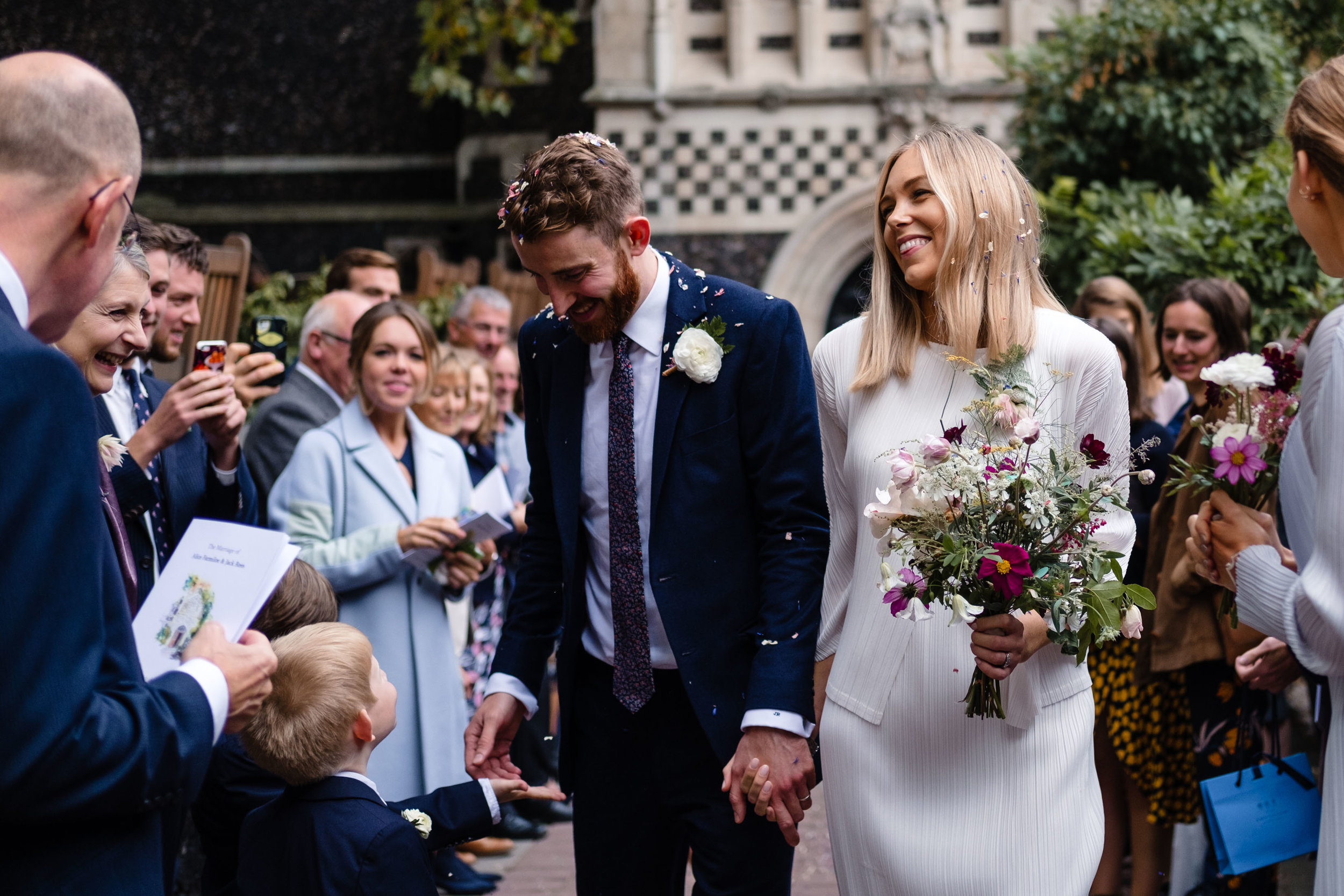 Alice & Jack // Smithfields London Wedding -