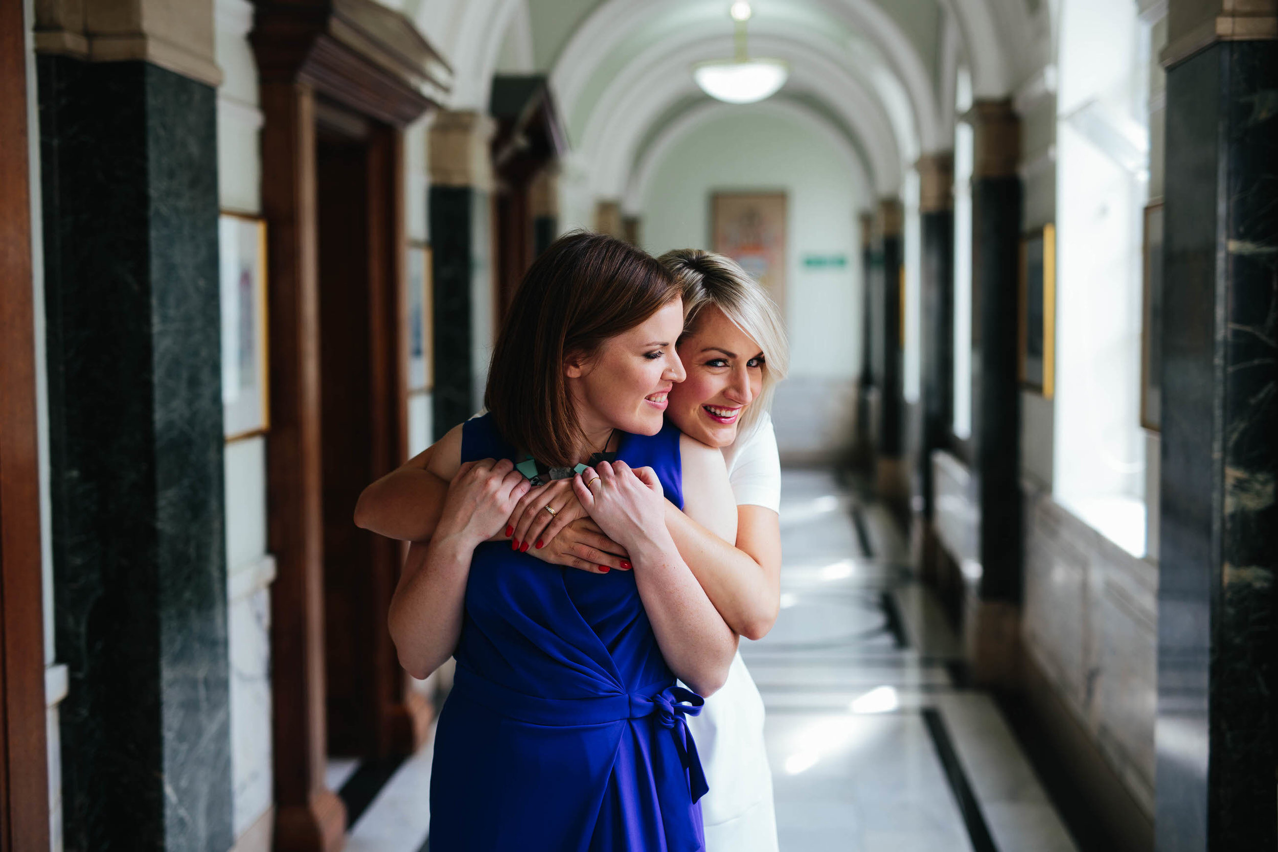 """""""And thank you for reminding me to trust you! The photo of Alice hugging me is, of course, one of my favourites (amongst many others!)""""  Sinead"""