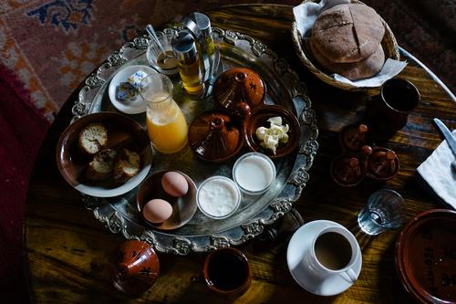 Berber breakfast in Marrakech