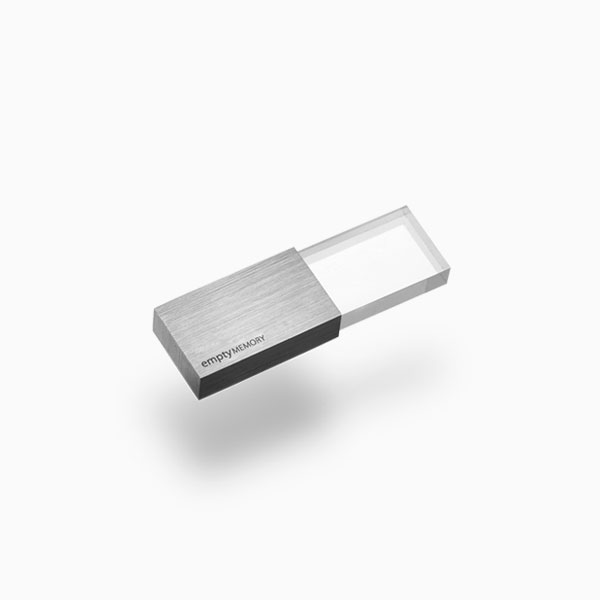<a href=/emptymemory-transparency-stainlesssteel>USB flash drive →</a><strong>£55</strong>