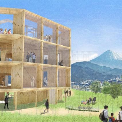 Nihondaira Mountain Top Symbol Building Proposal Competition 2016