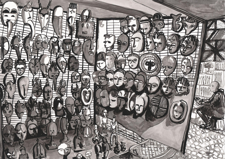 # 005 Green Market Square Maskes