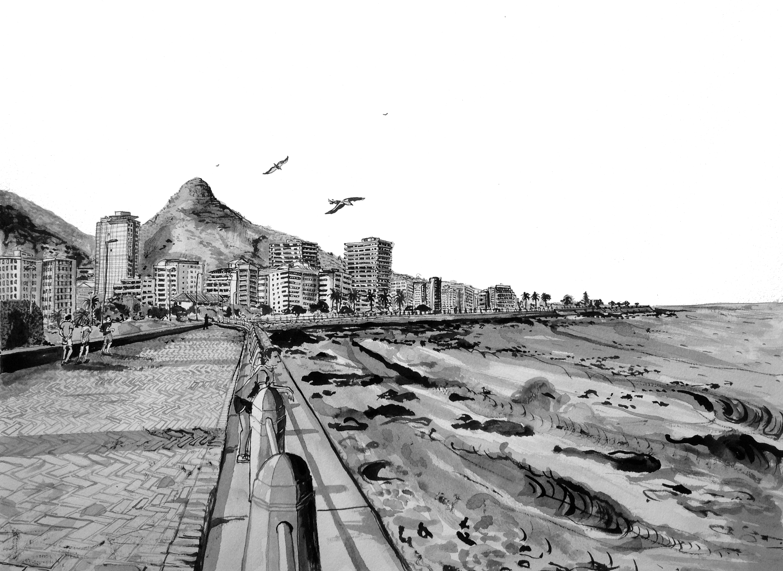 # 04 Sea Point Promenade (mountain)