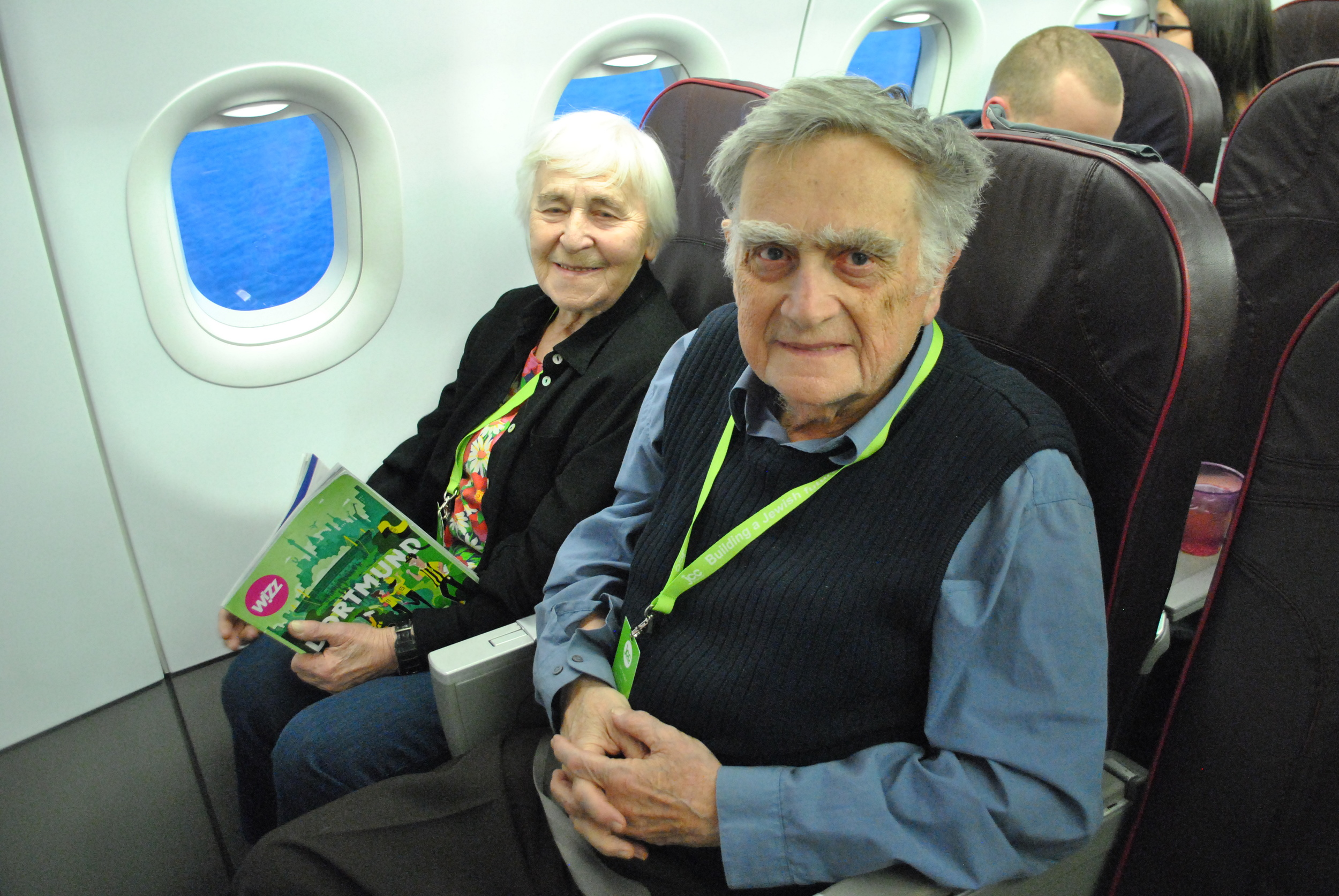 For many of our Holocaust survivor members, like Kalina and Jan, this trip is their first chance to visit Israel.