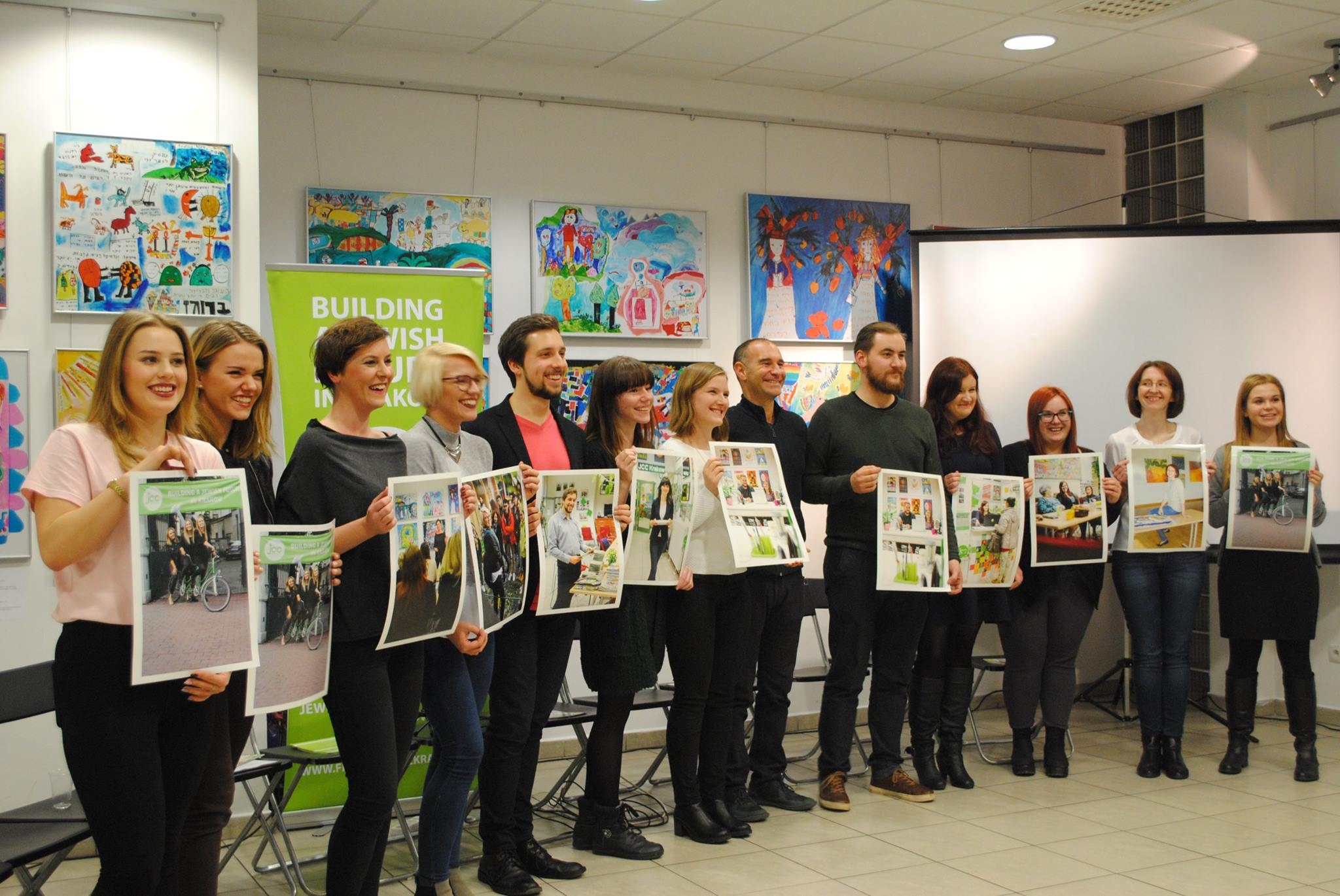 Maciej and other JCC Volunteers featured in our 2017 calendar
