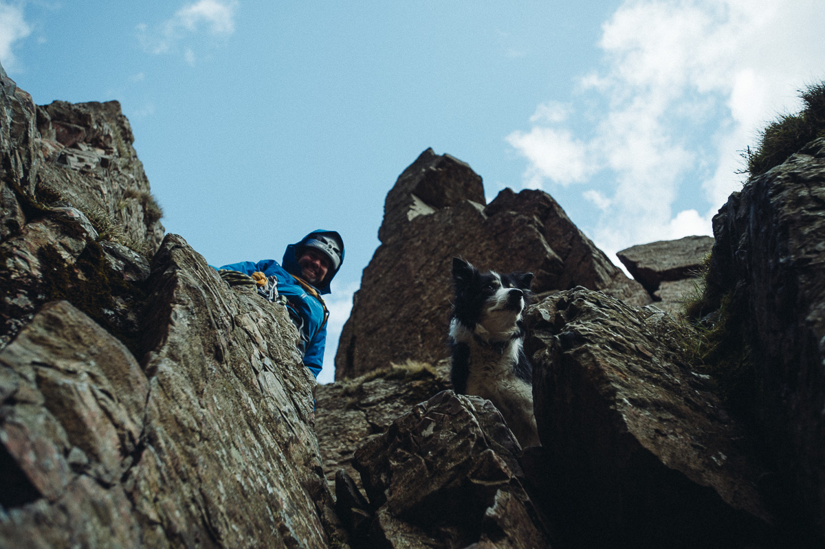 Great Gable with Pippa. Photo courtesy of Jordan Manley