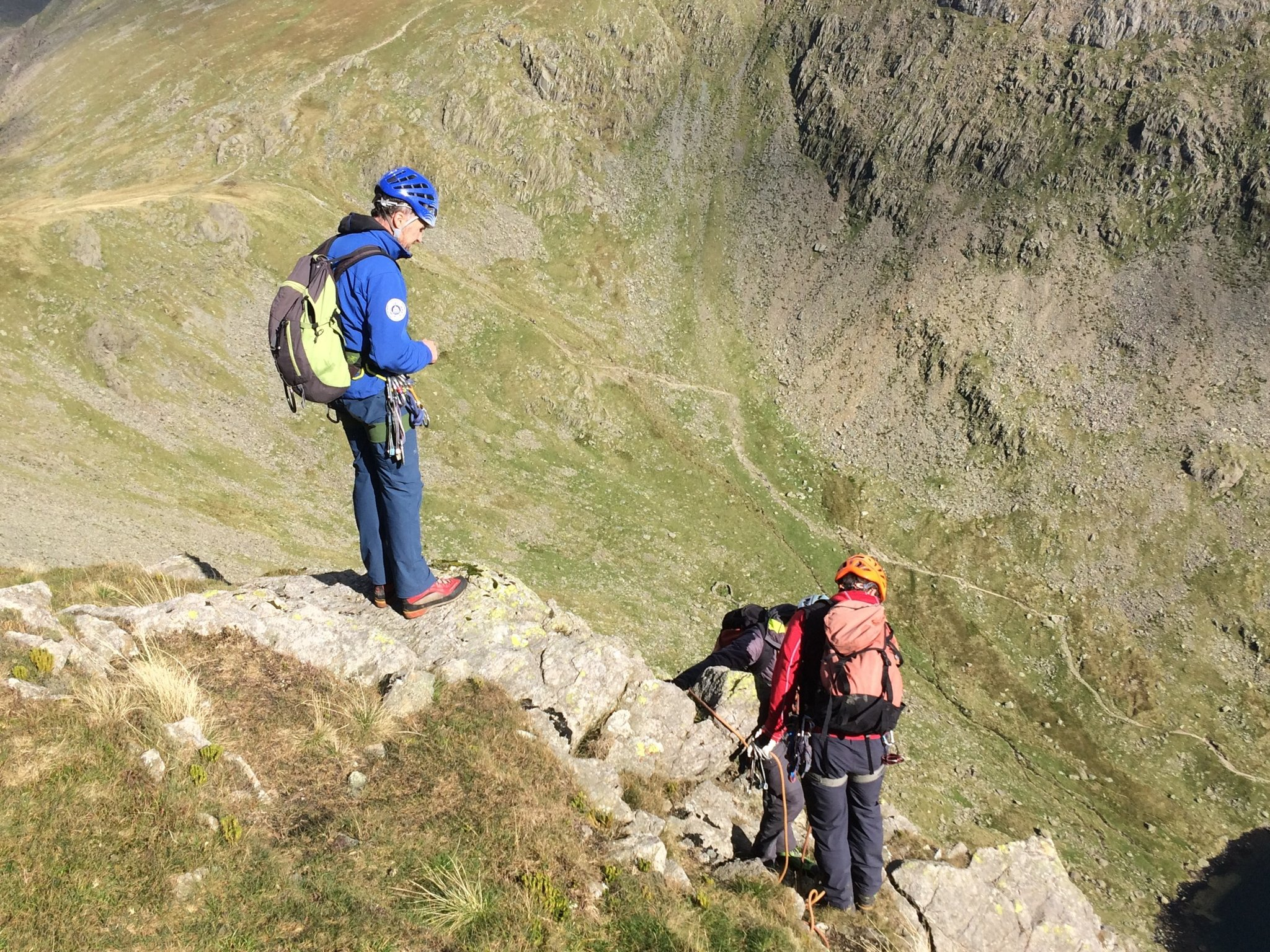 Above Goat's Water, Coniston.Photo courtesy of Tom Greenwood