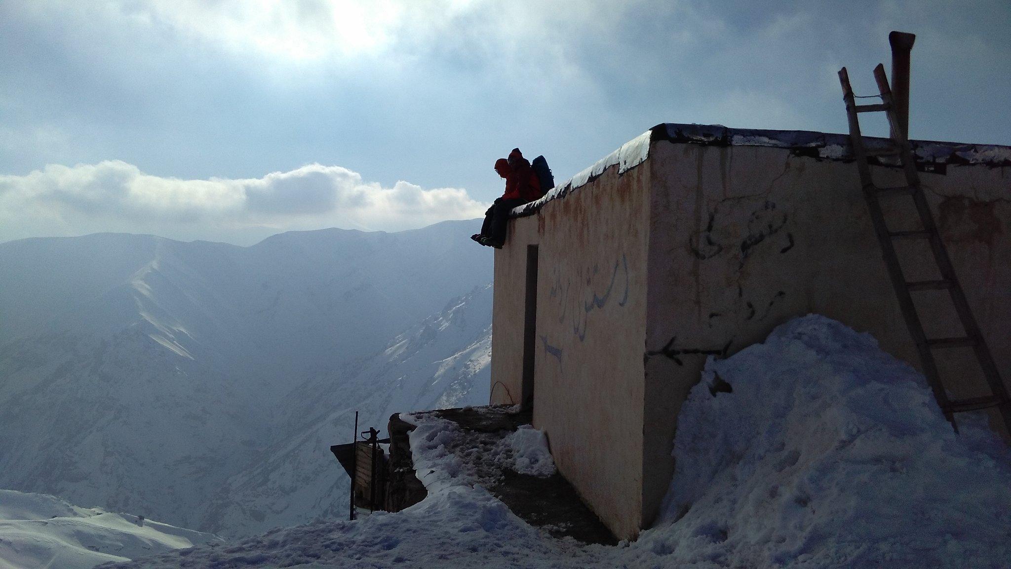 February: skiing in Iran