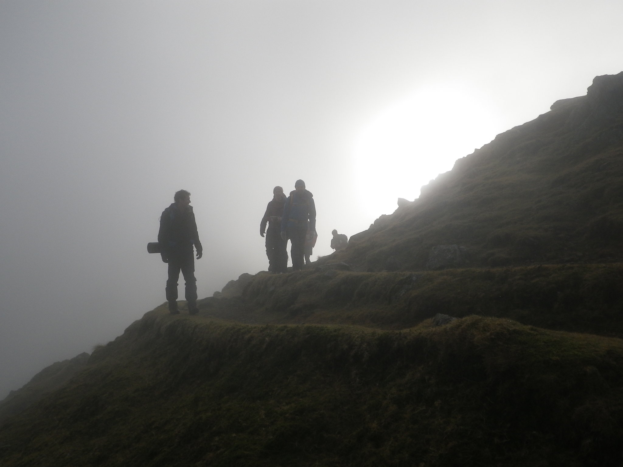 Out on expo on the Mountain Leader training course last week