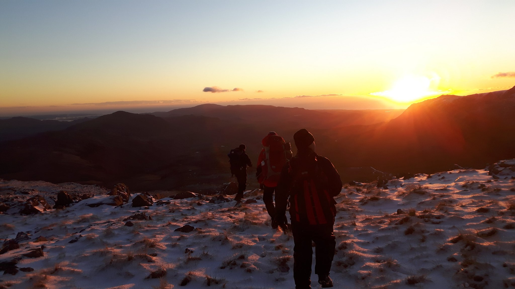 November: Mountain Leader assessment in the Lake District
