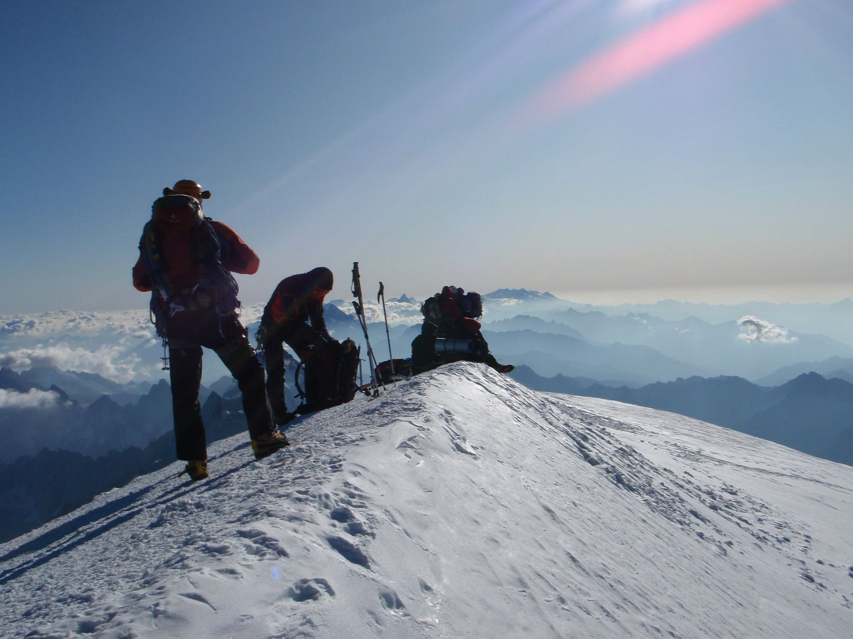 Ascent of Mont Blanc -