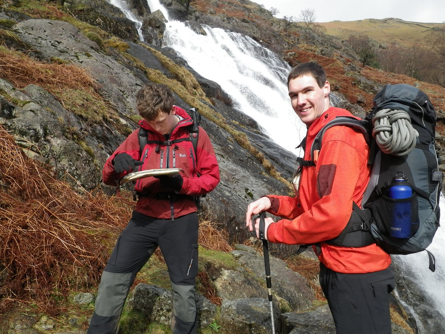 Navigating on a Mountain Leader assessment course - Chris Ensoll Mountain Guide