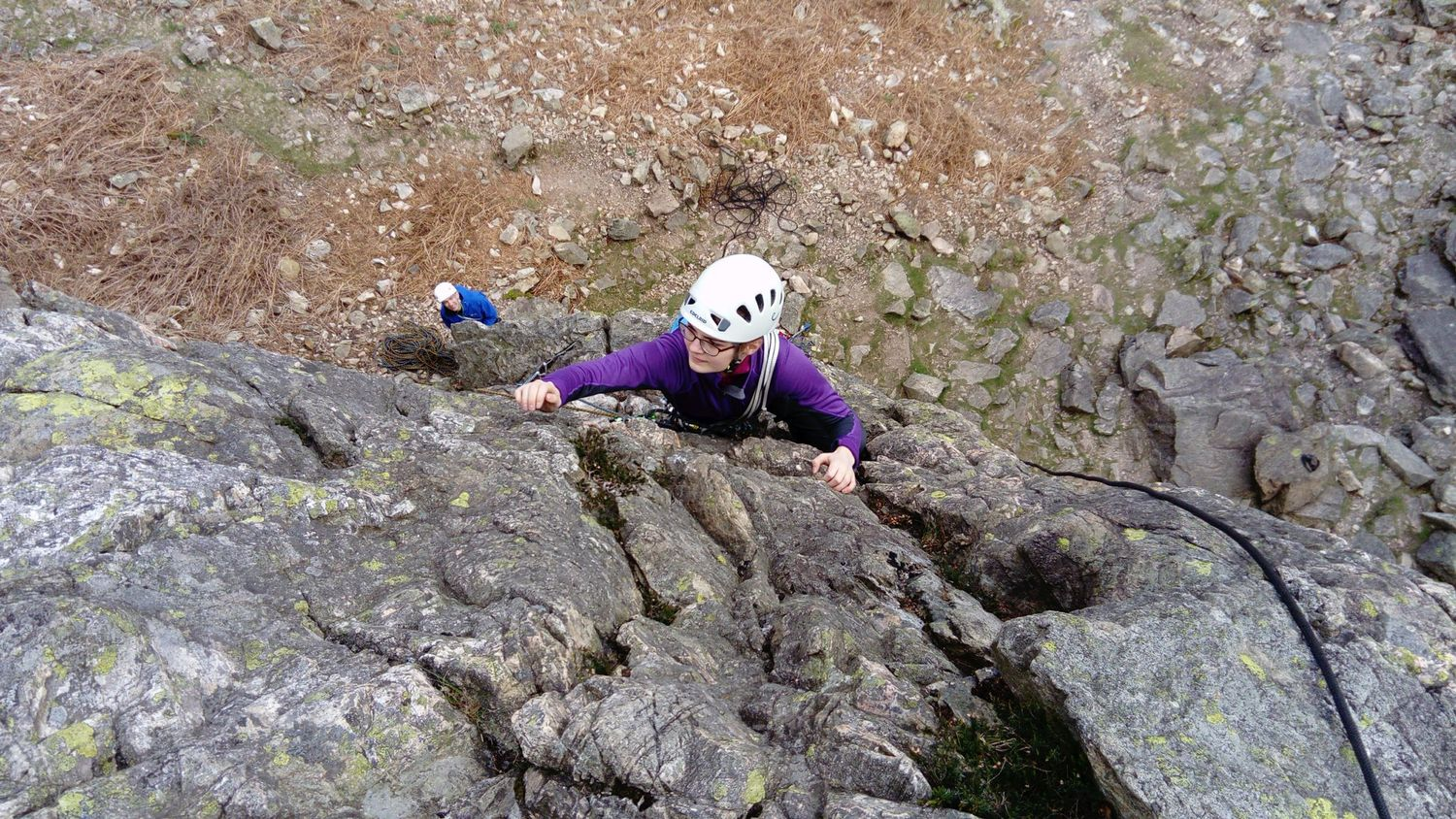Learning to lead in the Lake District - Chris Ensoll Mountain Guide
