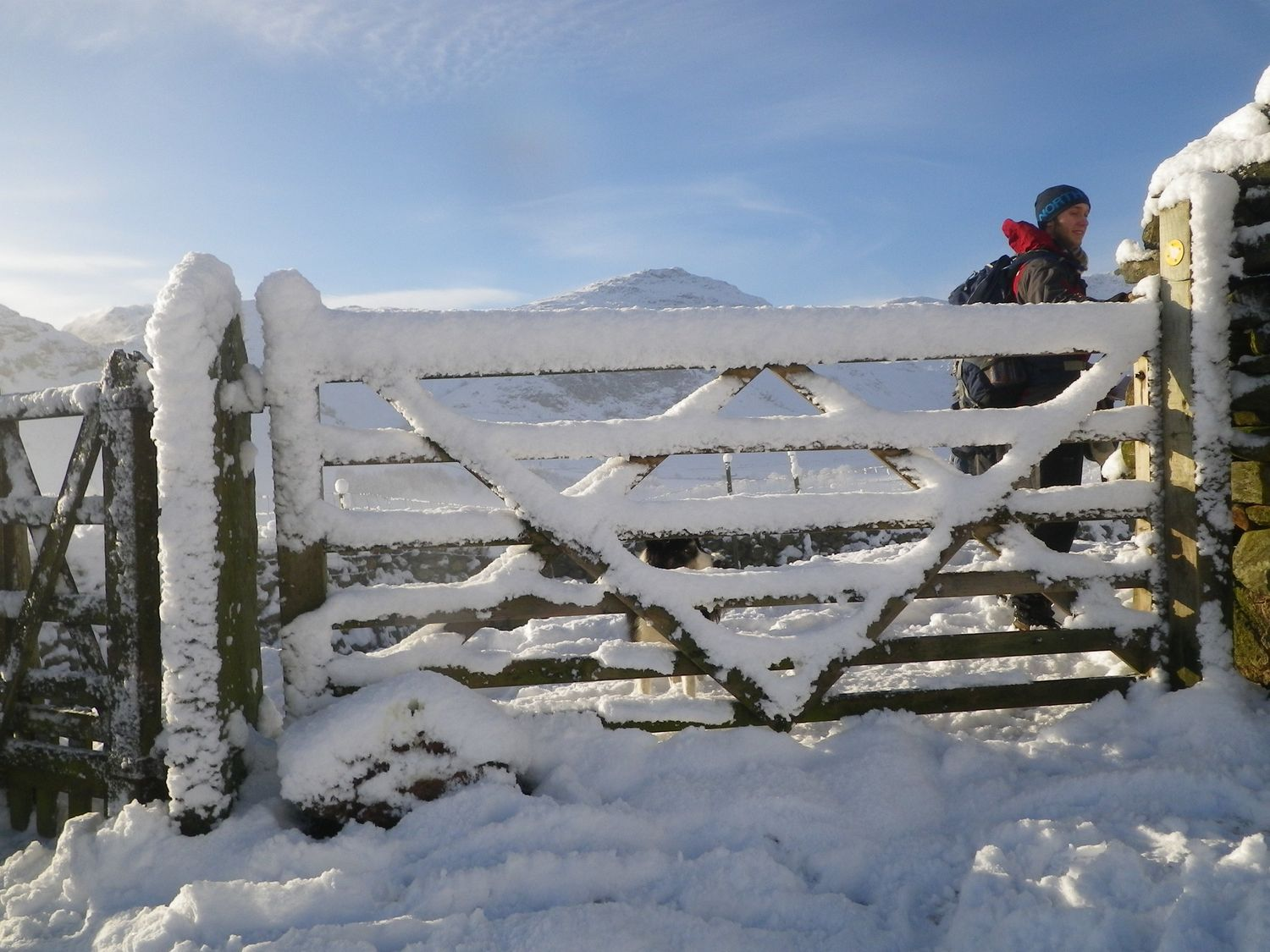 Walking in the Lake District mountains in winter - Chris Ensoll Mountain Guide