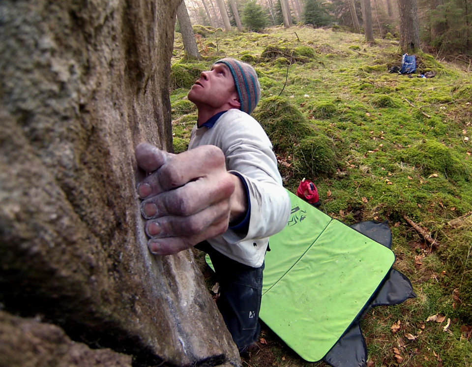 Developing a new bouldering area in the Lake District