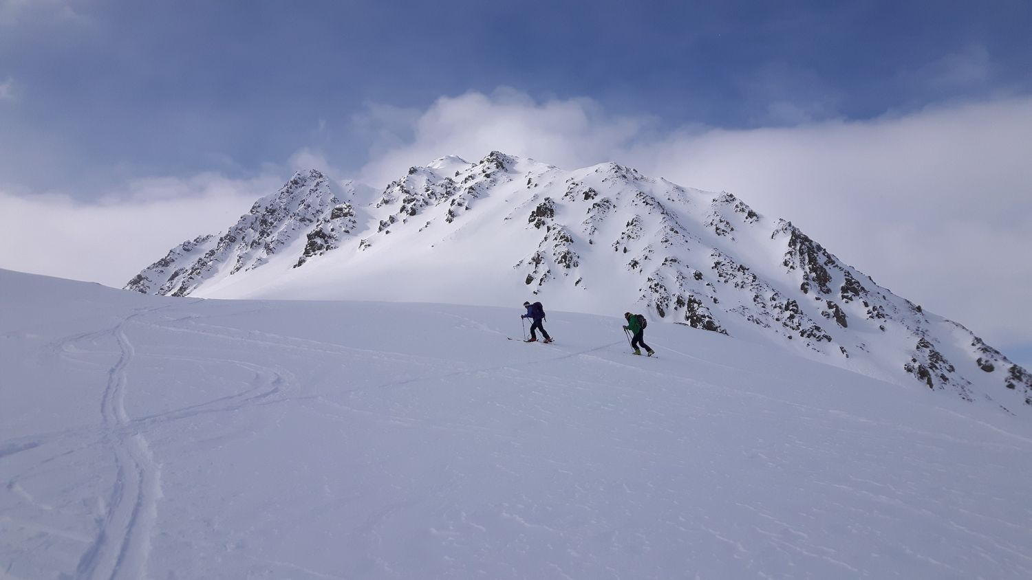 February: ski-touring in the Ecrins National Park, France