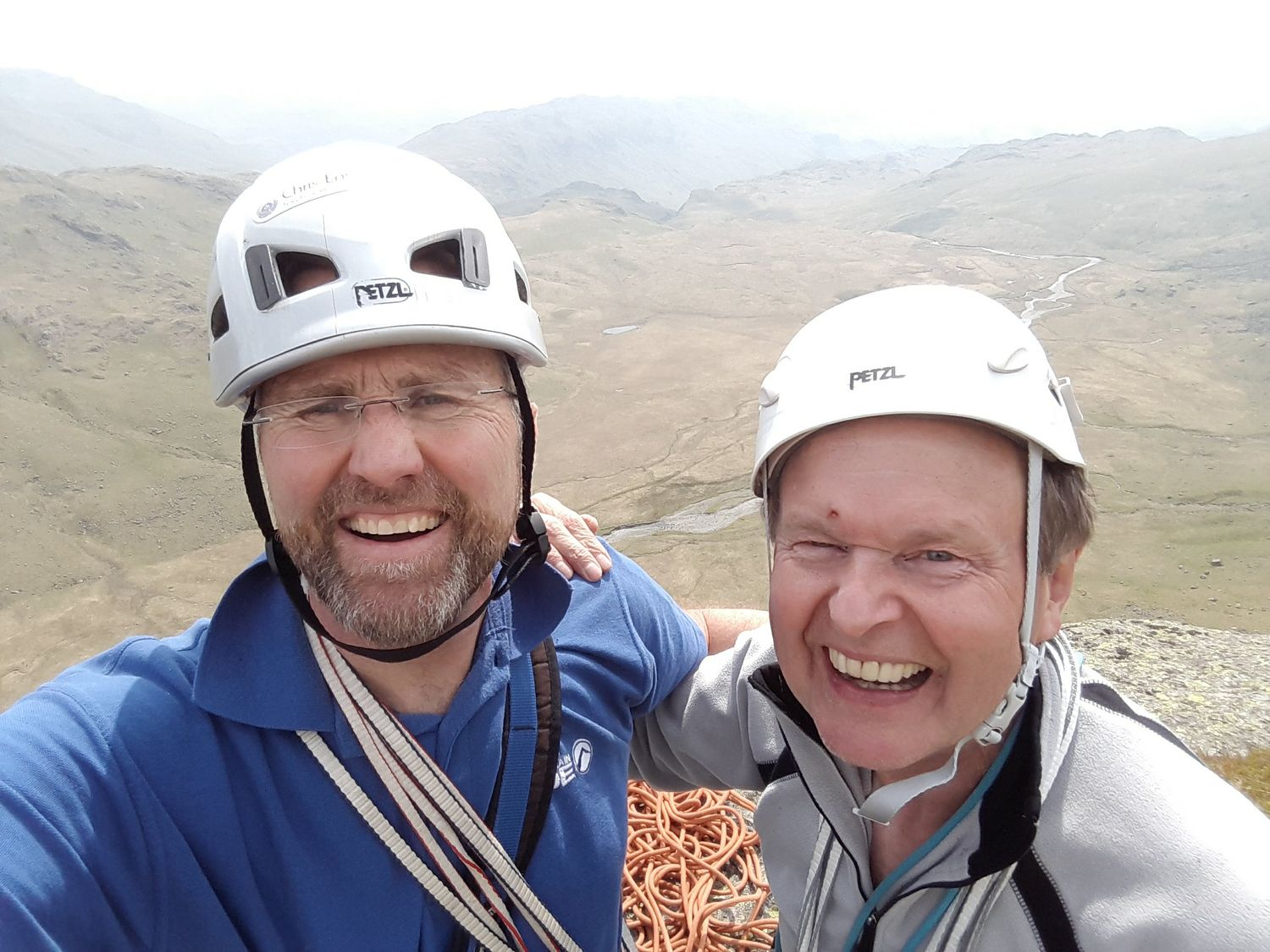 May: ticking off classic rock routes in the Lake District with returning client Stephen Evans