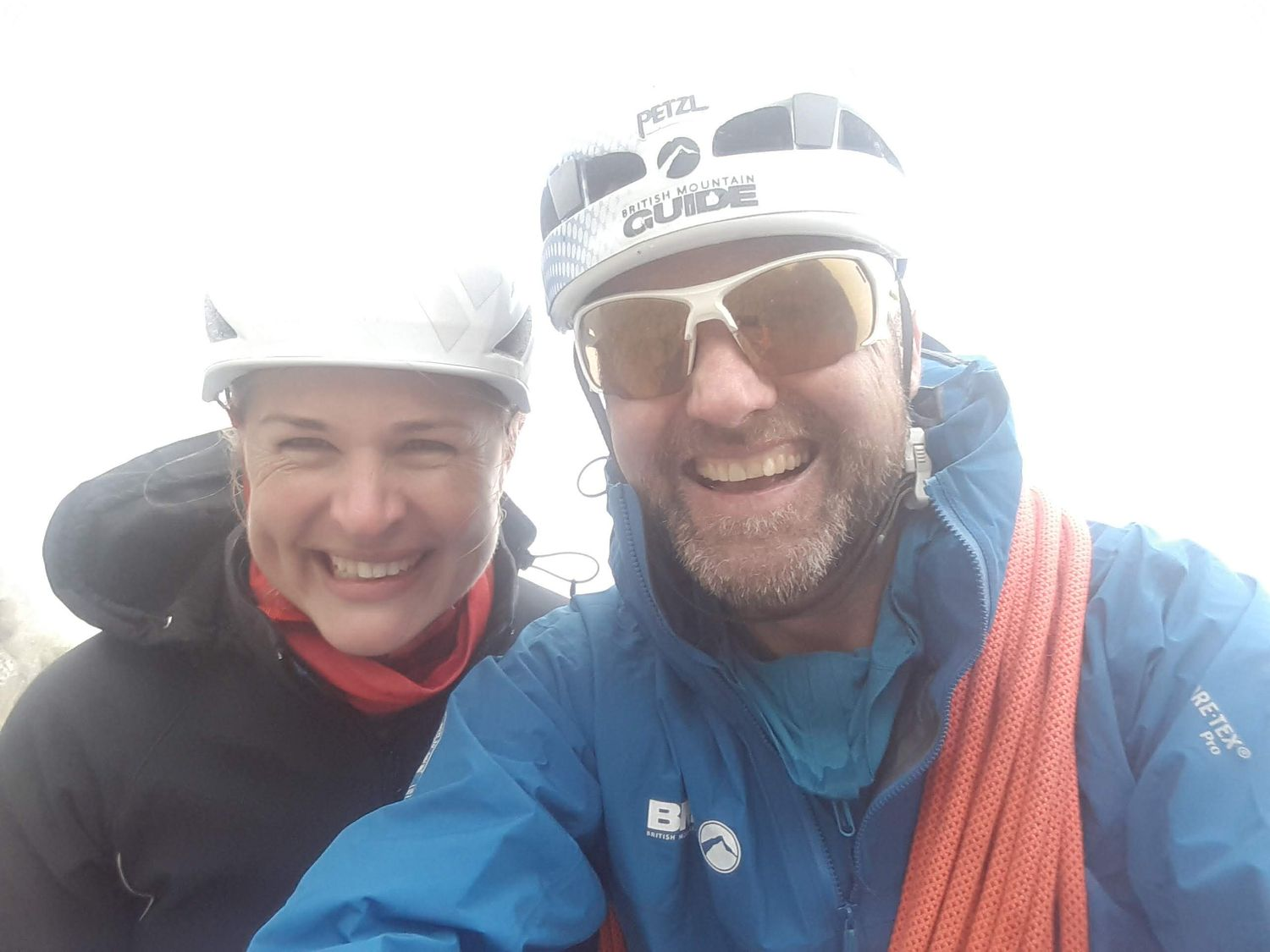 July: Alpine guiding, including summiting the Matterhorn with Kate Baecher