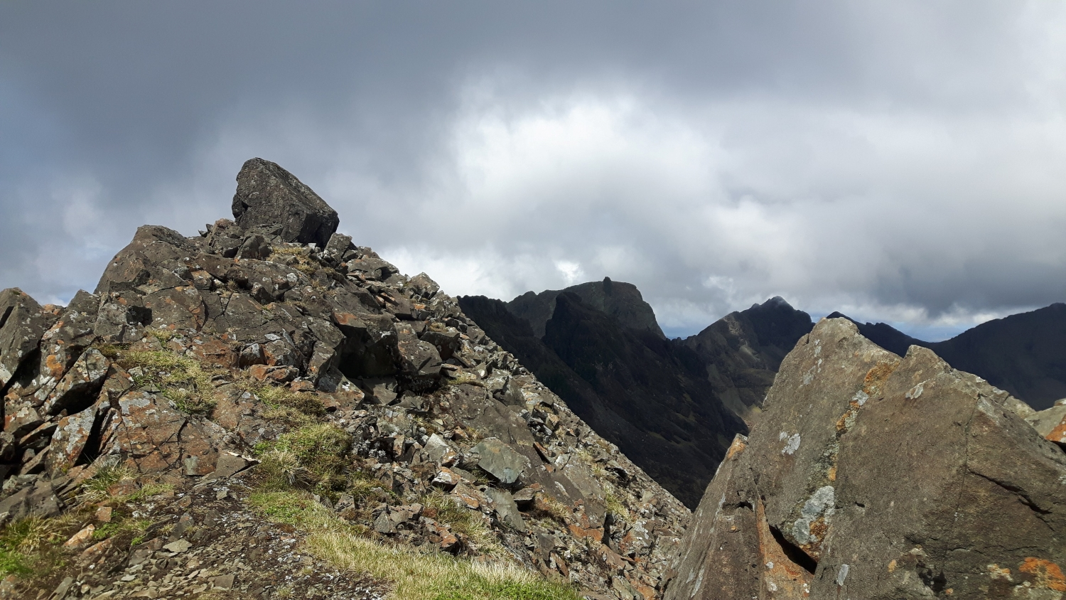 Looking north from Sgurr nan Eag