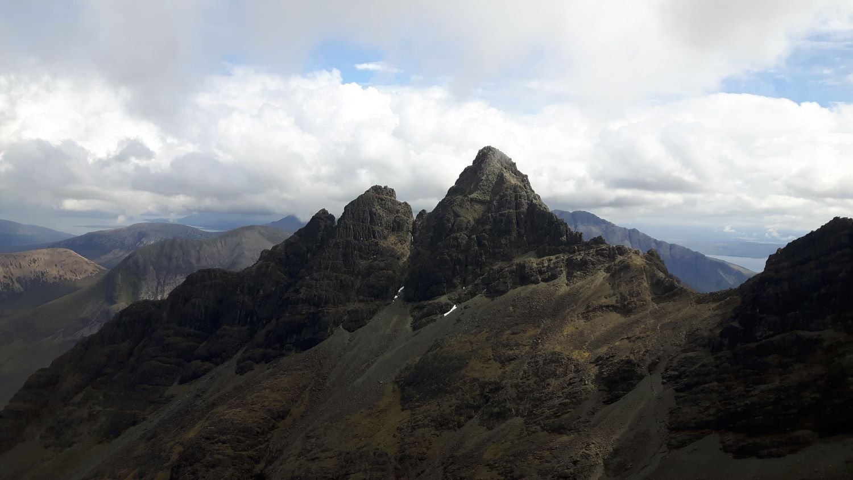 Pinnacle Ridge and the summit of Sgurr nan Gillean