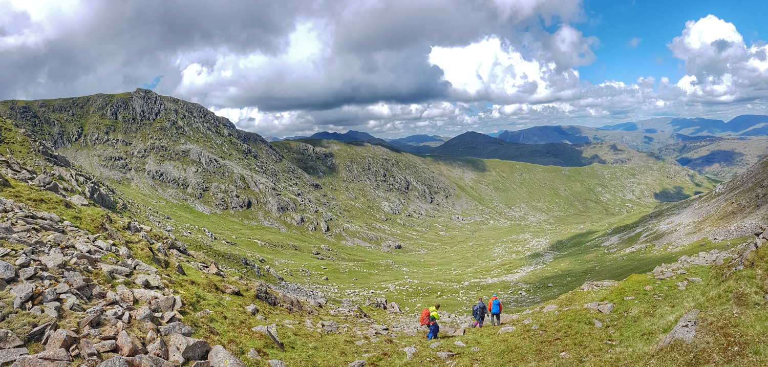 Thursday 6th June: making our way back to the Wrynose Pass